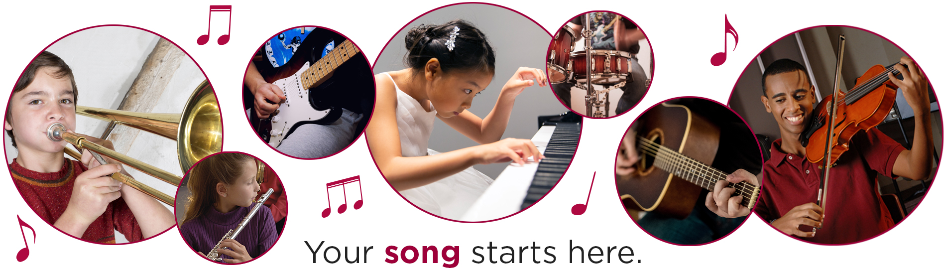 Your Song Starts Here Banner